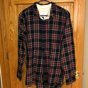 NWT on the byas flannel shirt